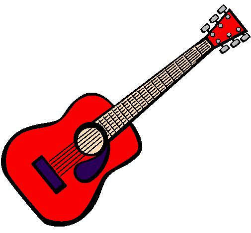 Desenhos De Música, Instrumentos De Cordas Pintados E