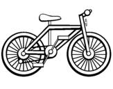 Desenho Bicicleta pintado por bicicleta