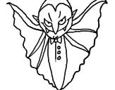 Desenho Vampiro aterrorizador pintado por andré