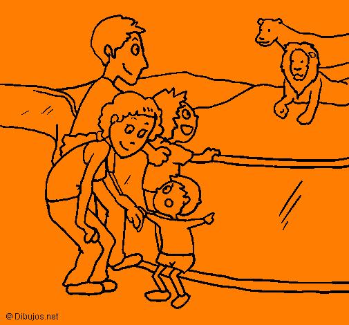 Desenho Zoo pintado por patricia