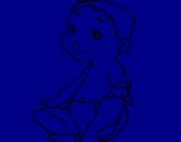 Desenho Bébé II pintado por Emillla