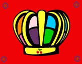 Desenho Corona pintado por rafacris