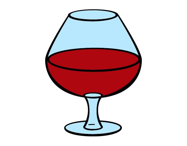 Desenhos De Vinho Para Colorir