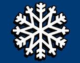 Desenho Copo de neve pintado por yulafx