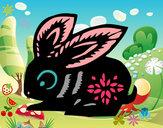 Desenho Signo do coelho pintado por AlininhaDi