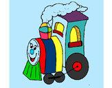 Desenho Comboio 4 pintado por Lugudy
