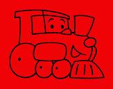 Desenho Comboio 1 pintado por MiguelAl