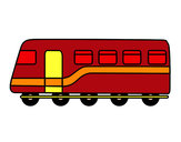 Desenho Trem de passageiros pintado por Richard5