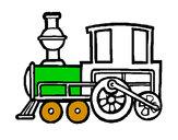 Desenho Comboio 2 pintado por larocas