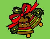 Desenho Sinos de natal pintado por RegisAssun