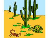 Desenho Deserto  pintado por daniel12