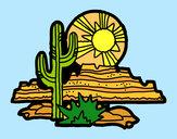 Desenho Deserto do Colorado pintado por daniel12