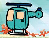 Desenho Helicóptero ligeiro pintado por victoria5