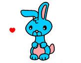 Desenho Art o coelho pintado por anaclara_r