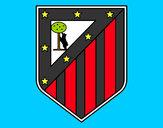 Desenho Emblema do Club Atlético de Madrid pintado por padinho