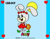 Desenho Amy pintado por Gabyybra