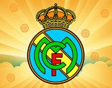 Desenho Emblema do Real Madrid C.F. pintado por vasco2015