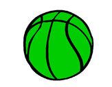 Desenho Bola de basquete pintado por xDHS