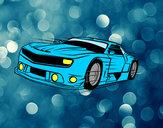 Desenho Carro desportivo veloz pintado por Thoppo