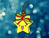 Desenho Estrela natalícia pintado por DaviLindo