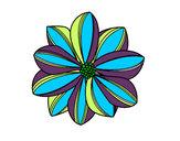Desenho Flor de margarida pintado por luzinda