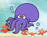 Desenho Octopoda pintado por daniel12