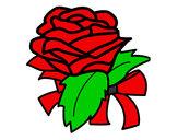 Desenho Rosa, flor pintado por Bhunna