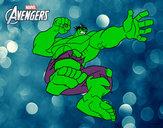 Desenho Wingadores - Hulk pintado por Jhhol