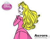 Desenho A Bela Adormecida - Princesa Aurora pintado por Bhunna