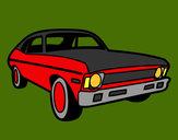 Desenho Carro americano pintado por jonatass