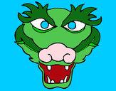 Desenho Dragão 5 pintado por IgorF