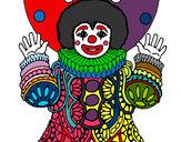 Desenho Palhaço disfarçado pintado por AurynhaB