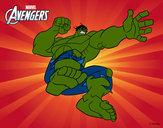 Desenho Wingadores - Hulk pintado por IgorF