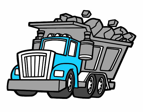 Caminhão carregado