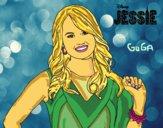 Desenho Jessie Prescott pintado por amauri