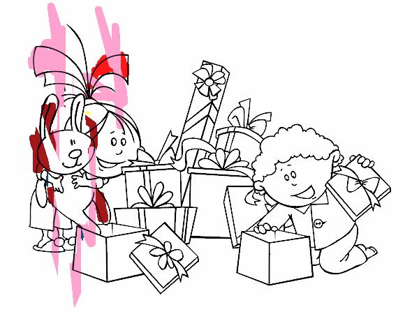 Meninos e presentes