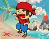 Pirata jovem