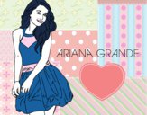 Desenho Ariana Grande pintado por bhun