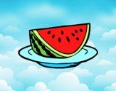 Bacia de melancia