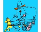 Carroça vaqueiro