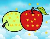 Dois maçãs