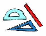 Estojo geometrica