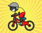 Menino ciclista