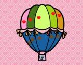 Balão de época