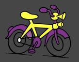 Bicicleta com buzina