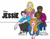 Desenho Jessie - Disney Channel pintado por edet