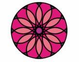 Desenho Mandala 38 pintado por annycopque