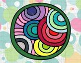 Mandala circular