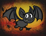 Desenho Morcego - vampiro pintado por daniel12
