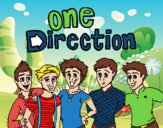 Desenho One Direction 3 pintado por graziporto